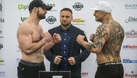 Babilon MMA 3: Ceremonia ważenia za nami! Foto & Video