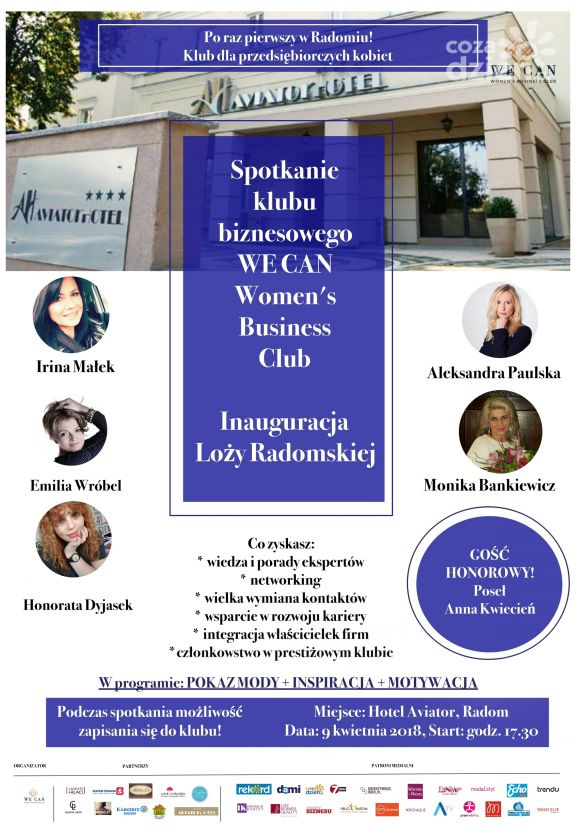 Spotkanie WE CAN Women's Business Club