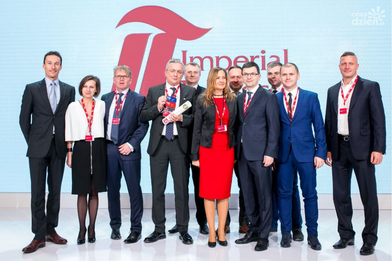 Imperial Tobacco z tytułem Top Employer