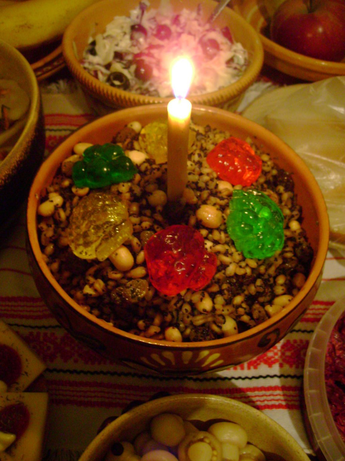 tradycyjna ukraińska kutia