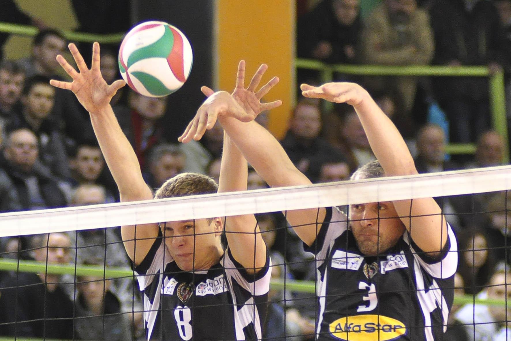 Kacper Gonciarz( z lewej) Krzysztof Staniec( z prawej)