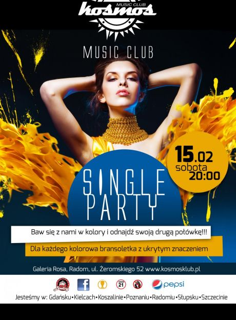 SINGLE PARTY w klubie Kosmos