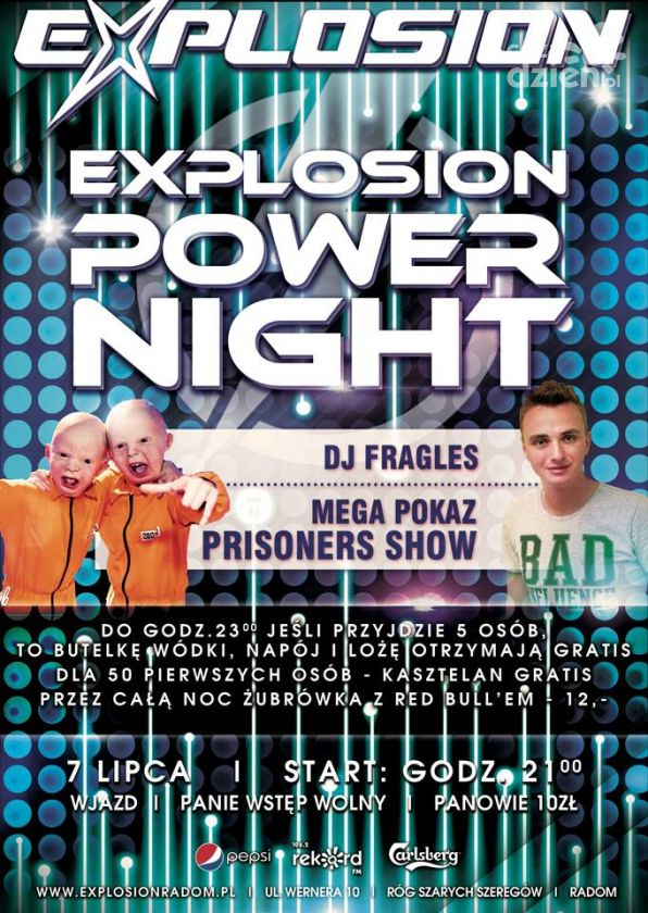 Explosion Power Night