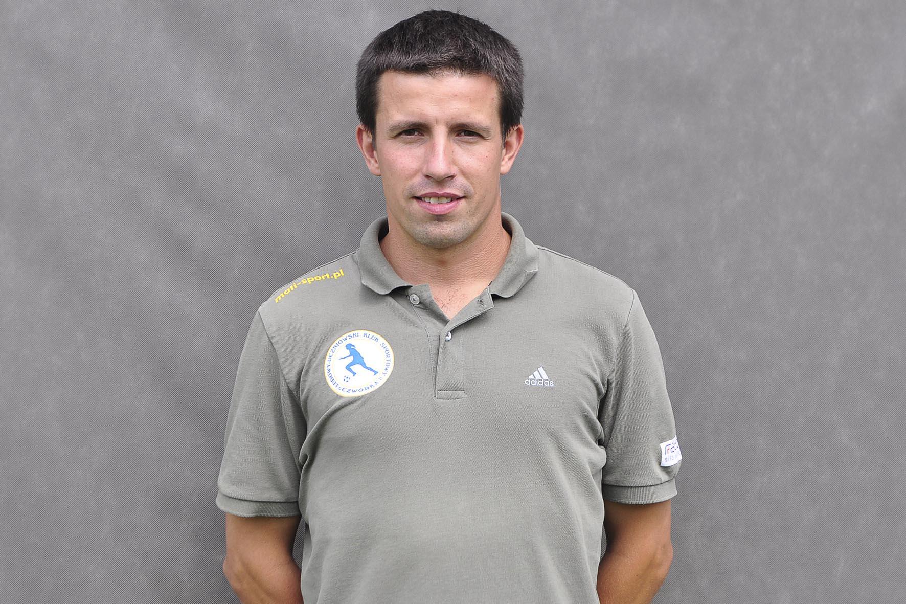 trener Sportowej Czwórki Marcin Brodecki fot. S W