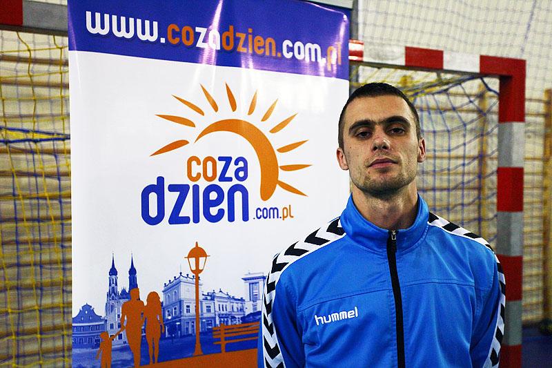 Piotr Włoskiewicz - trener UKS Delta Radom fot. M S