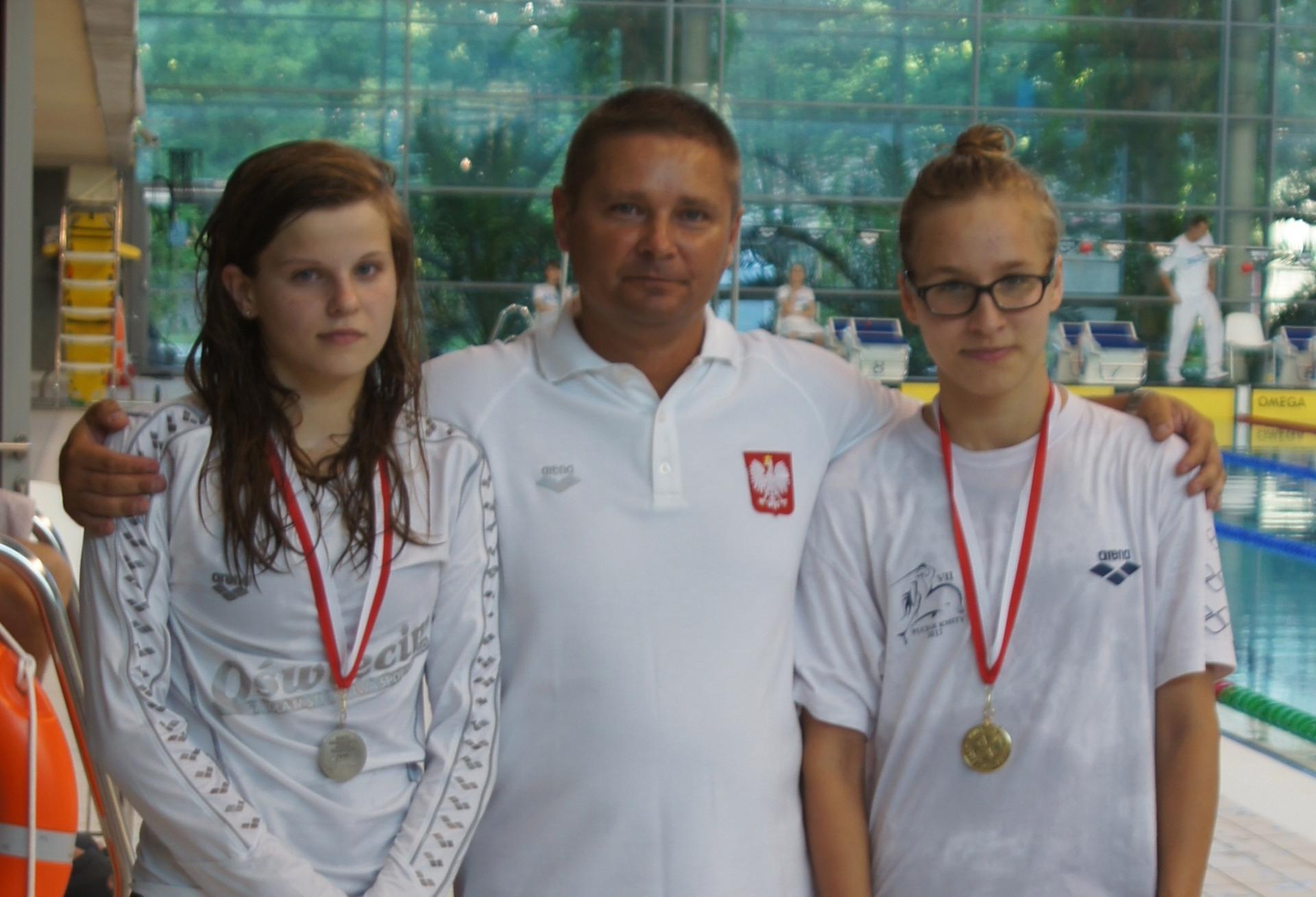 Adrianna Mendyk i Paulina Nogaj zmierzą się z najlepszymi juniorkami z Europy Środkowej fot. Wodnik Radom