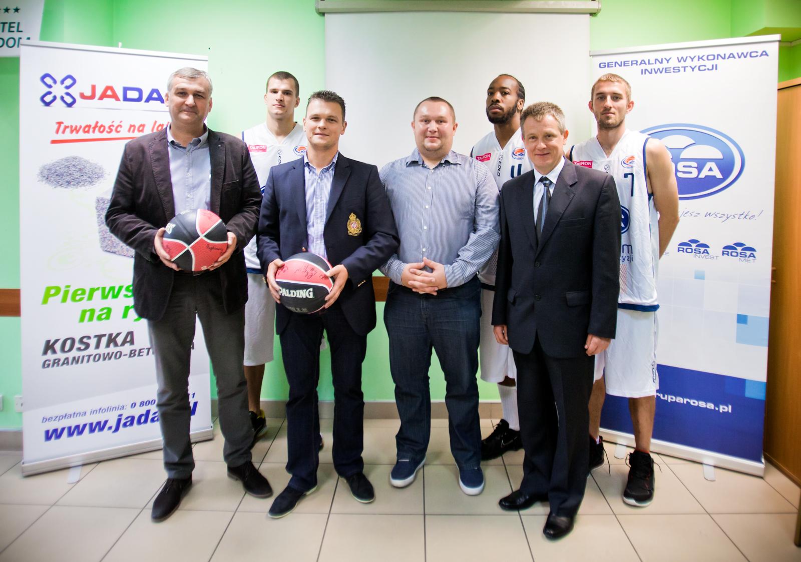 ROSA ma nowych sponsorów fot. Tomasz Fijałkowski