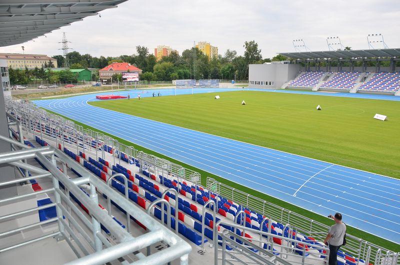 stadion lekkoatletyczny przy ul. Narutowicza 9 w Radomiu