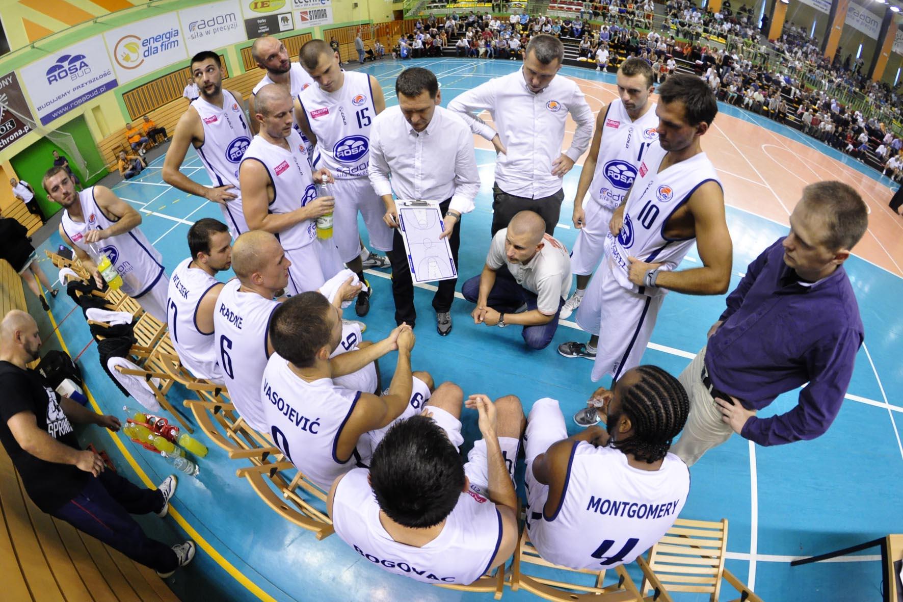 ROSA wygrała pierwszy mecz w Tauron Basket Lidze fot . S W