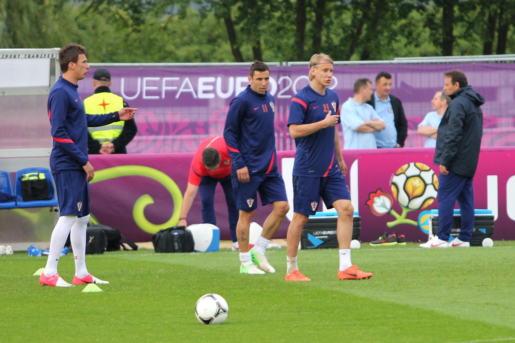 Chorwaci odpadli z Euro 2012 w fazie grupowej fot. M S