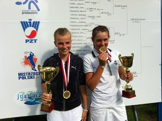 Oliwia Szymczuch (z prawej) fot. RKT Return