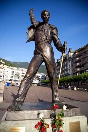 pomnik Freddiego Mercury'ego