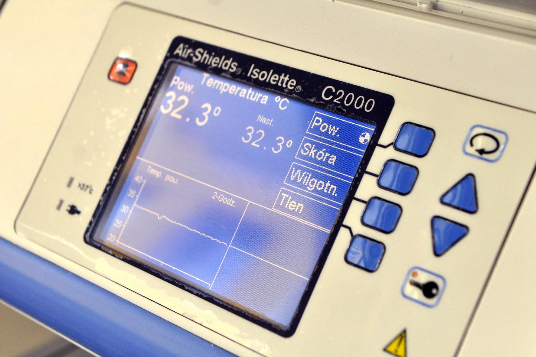 aparatura do monitorowania parametrów życiowych