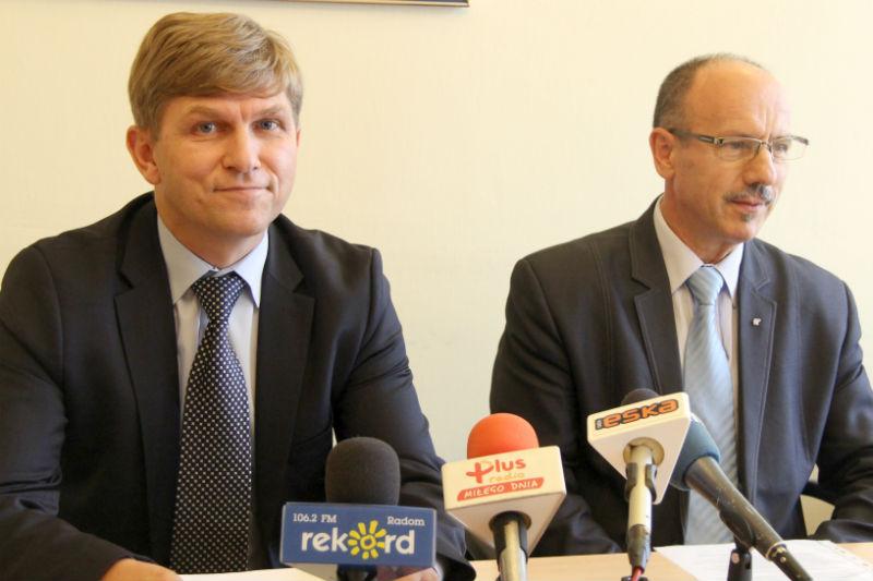 Krzysztof Sońta i Ryszard Fałek